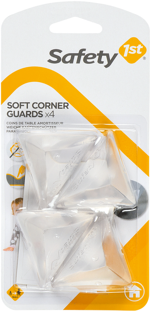 Safety 1st, Soft Corner Guards (Pack of 4)