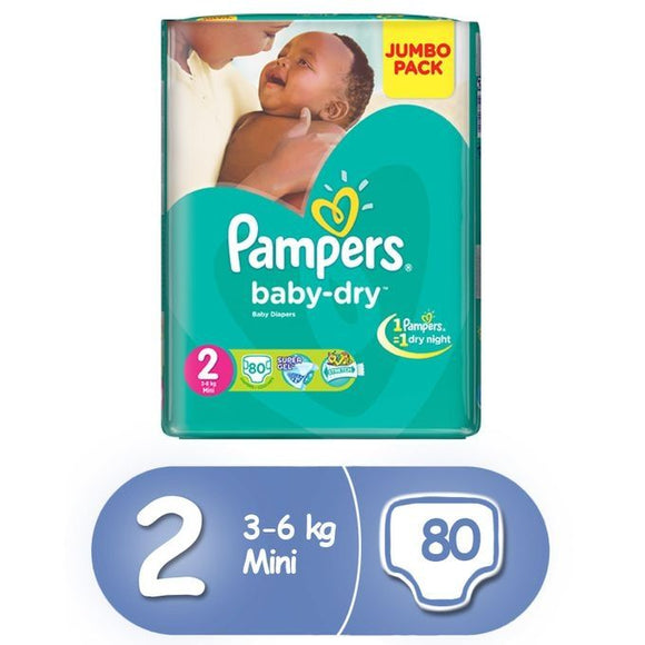 Pampers Nigeria, Baby-Dry Size 2
