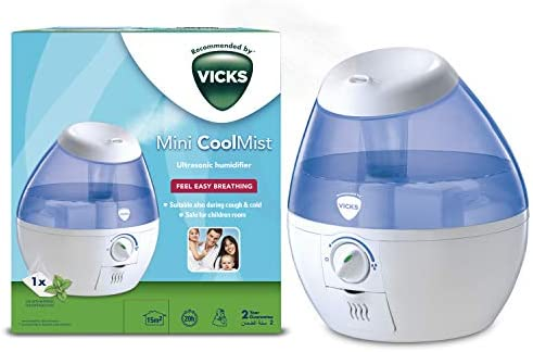 VICKS Mini Cool Mist Ultrasonic Humidifier