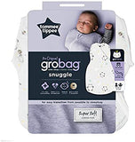 Tommee Tippee The Original Grobag, Newborn Easy Swaddle, 0-3 m, Little Ollie