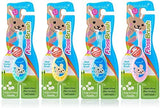 Brush-Baby FlossBrush DEEPCLEAN bristles for Mixed Teeth, Braces, Kids who Won't Floss (Age: 0-3 Years)