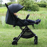 Bily Compact Easy-Fold Stroller - Heathered Grey