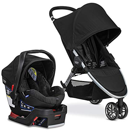 Britax 2017 B Agile & B Safe 35 Travel System, Black (US Delivery Only) - mumspring