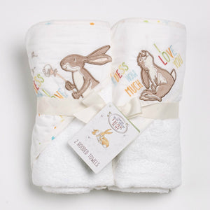 Hooded Towels - Guess How Much I Love You