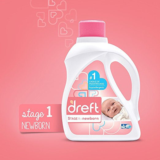 Dreft, Stage 1: Newborn Liquid Laundry Detergent (HE) - mumspring