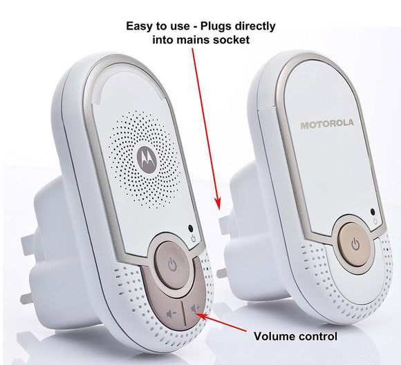 Motorola, MBP8 Audio Baby Monitor