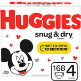 Huggies Snug & Dry Diapers( In size 1/2/3/4/5/6)