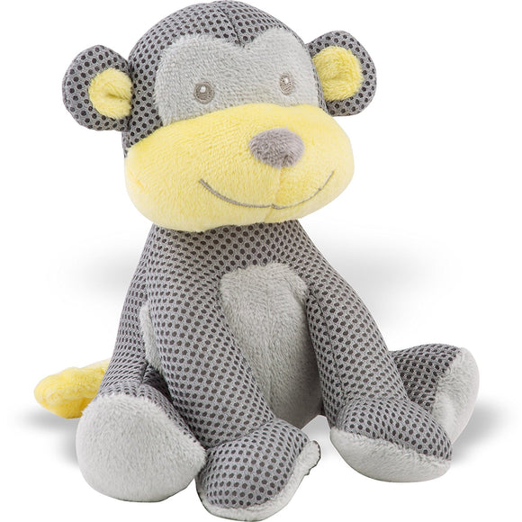 BreathableBaby, Monkey Soft Toy - mumspring