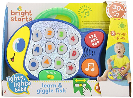 Bright Starts, Learn & Giggle Fish - mumspring