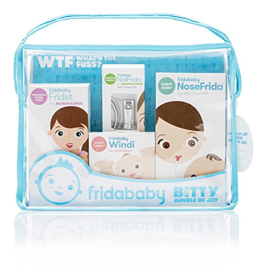 Fridababy Bitty Bundle of Joy Mom & Baby Healthcare and Grooming Gift Kit - mumspring