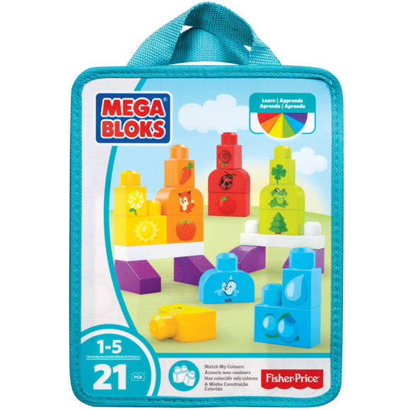 Mega Bloks, First Builders Learn My Colours - mumspring