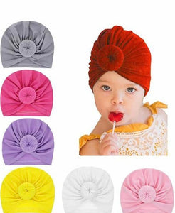 Knotted Baby Turbans - mumspring