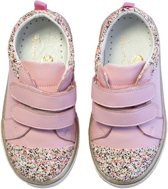 cca98cc53099 Rose et Chocolat Candy Sprinkle Pink (Soft Stepz Trainerz) - mumspring