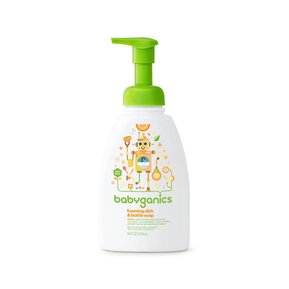 Babyganics Dish Bottle Soap - mumspring