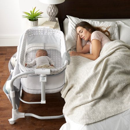 Dream & Grow Bedside Bassinet - mumspring