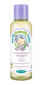 Earth Friendly Baby Organic Body Moisturizing Shea Massage Oil 125ml - mumspring
