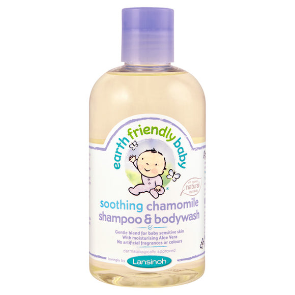 Earth Friendly Baby Organic Shampoo & Bodywash (250ml) - mumspring