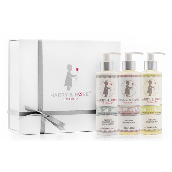 Harry & Rose Baby Skincare Gift Set - mumspring