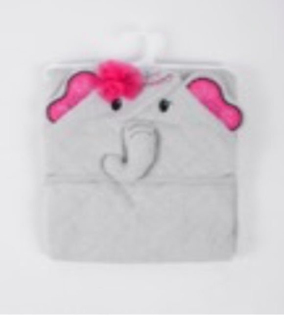 3D Elephant Design Hooded Towel - mumspring