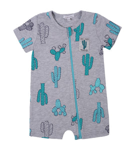 Cactus Baby Short Rompers - mumspring