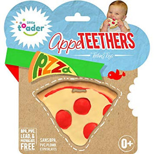 Little Toader Appe Teethers - Pizza - mumspring