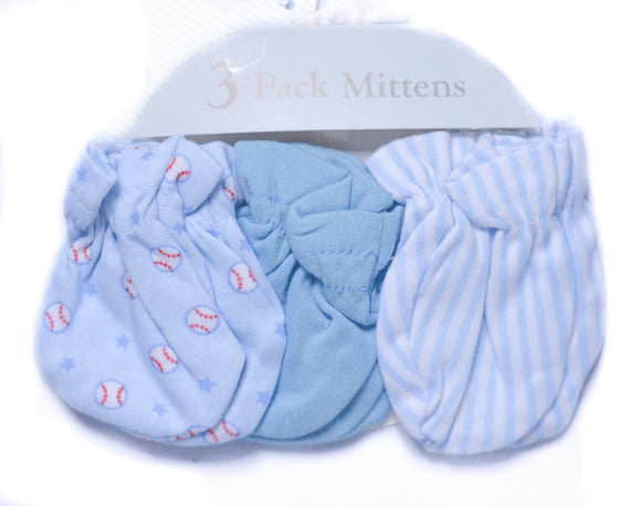 3-piece Baseball Mittens - mumspring