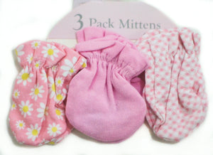 3-Piece Cute Mittens - mumspring
