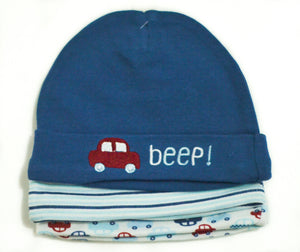 3-Piece Beep! Hats - mumspring
