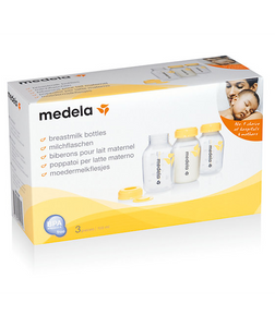 Medela Breastmilk Bottles, 150 ml, Pack of 3
