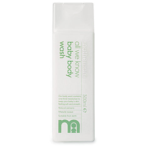 Mothercare, All We Know Baby Body Wash - mumspring