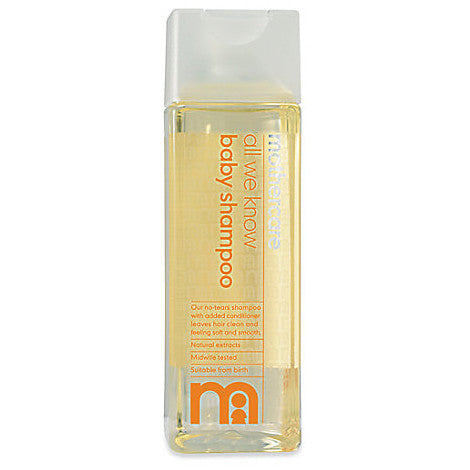 Mothercare, All We Know Baby Shampoo - mumspring