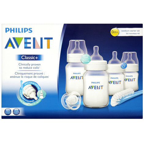 Philips Avent, Classic+ Newborn Starter Set - mumspring