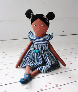 Tiana - Handcrafted Heirloom Doll
