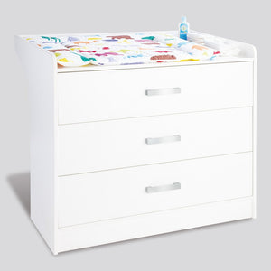 Viktoria Changing Unit with Drawer Chest by Pinolino
