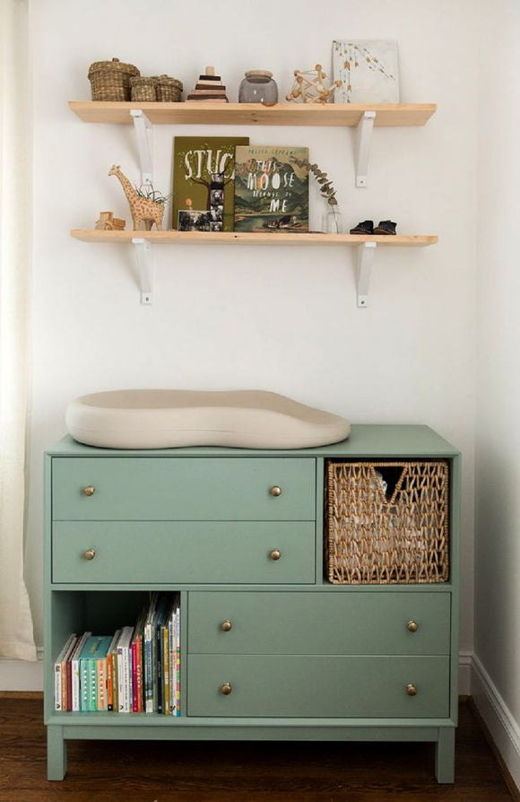 Vintage Blue Dresser and Changer