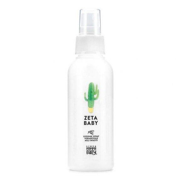 Face and Body Zeta Baby Insect Repellant Lotion By Linea Mamma Baby - mumspring