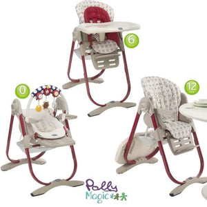 Chicco, Polly Magic Highchair (3-in-1)