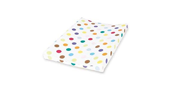 Shaped Changing Mats Cover - Dots - mumspring