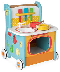 Early Learning Centre, Wooden Activity Kitchen Walker - mumspring