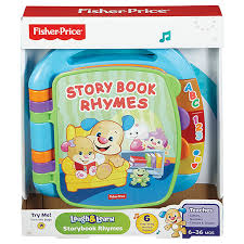 Fisher-Price, Laugh & Learn Story Book Rhymes - mumspring