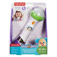 Fisher-Price, Laugh & Learn Microphone - mumspring