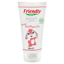 Friendly Organic Baby Toothpaste