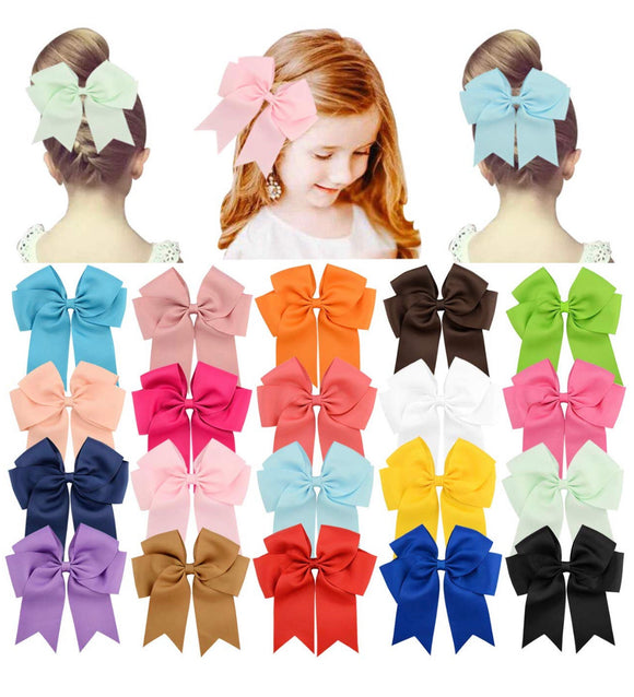 Willing Tee Bow Hair Clips
