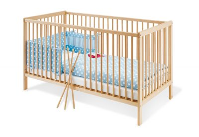 Cot Bed Hanna Wide-1 Piece - mumspring