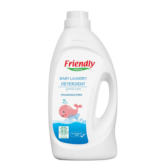 Friendly Organic Baby Laundry Detergent (Perfume Free) 1L