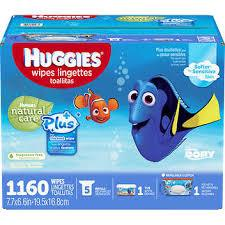 Huggies, Natural Care Plus Baby Wipes