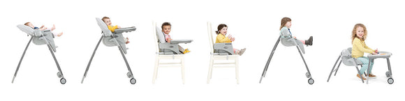 Joie, Multiply 6in1 Highchair, Booster Seat, Chair and Table - mumspring
