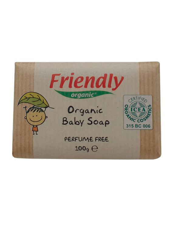 Friendly Organic Baby Bar Soap