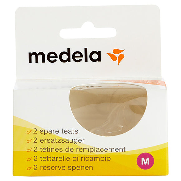 Medela, Teat/Nipple (Pack of 2) - mumspring