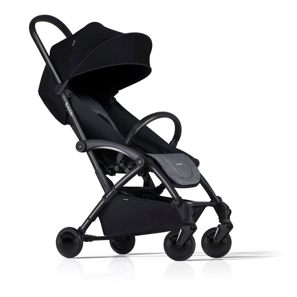 BumpRider Connect Stroller Black/Grey Melange - mumspring